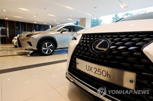 韩5月进口车销量同比增加3.5%