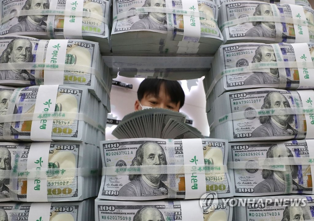 韩10月外储4265亿美元 环比增加60亿