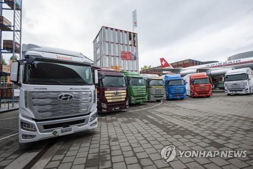 现代汽车:计划到2030年对华出口2.7万辆氢卡