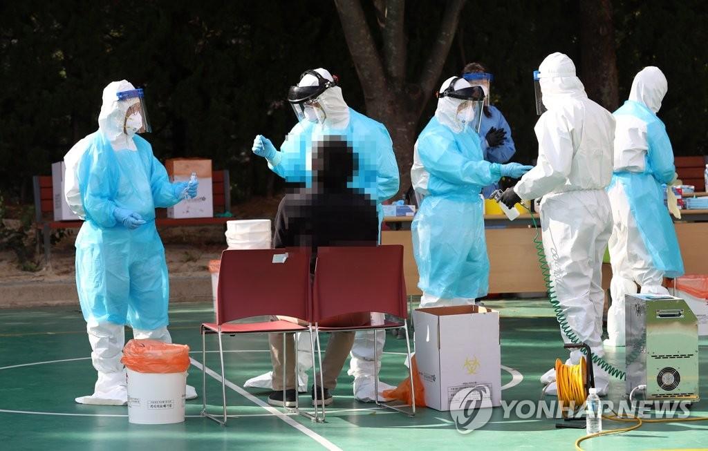 简讯:韩国新增84例新冠确诊病例 累计确诊24889例