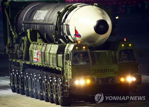 韩国防部就朝鲜公开新型武器表忧虑
