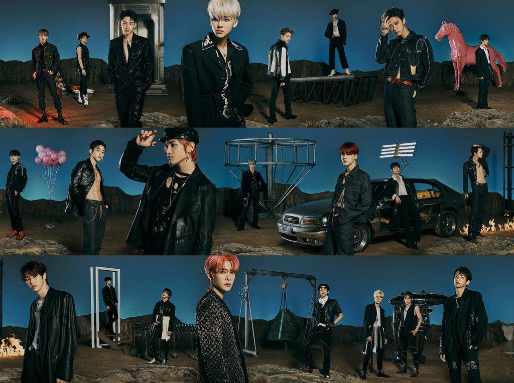 超大型男团NCT SM娱乐供图(图片严禁转载复制)
