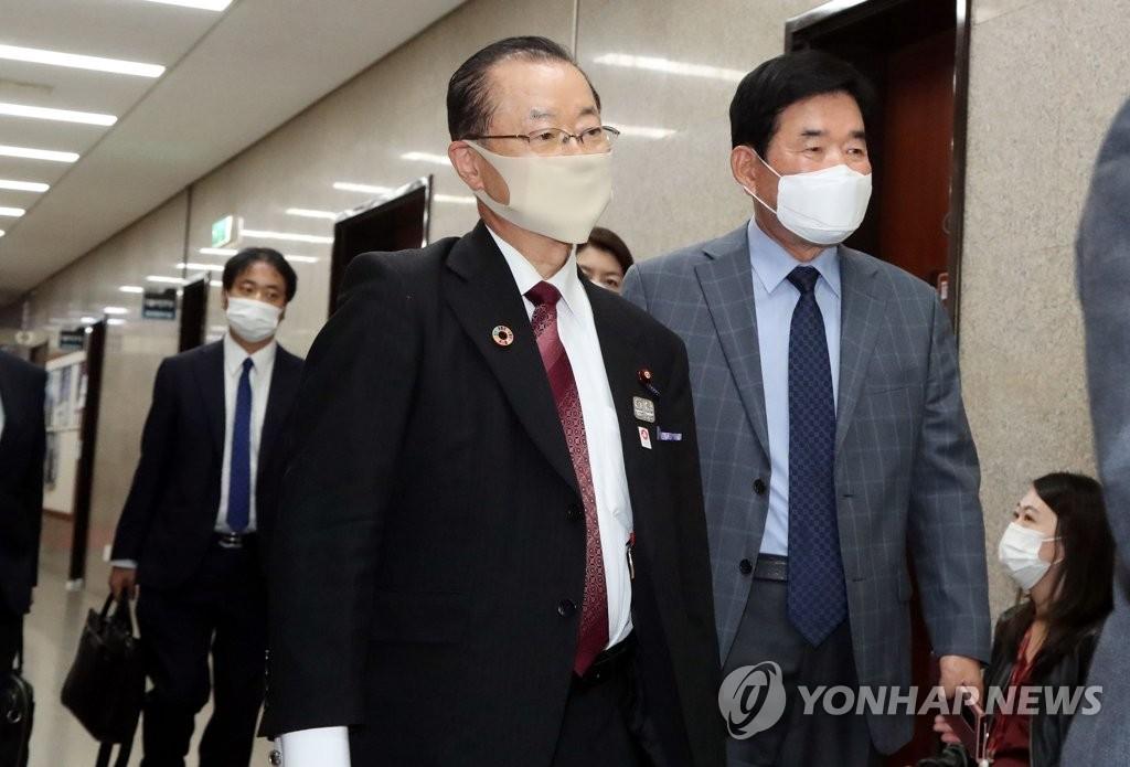 日韩议员联盟干事长访问韩国国会