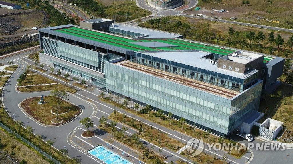 资料图片:位于济州的绿地国际医院 韩联社