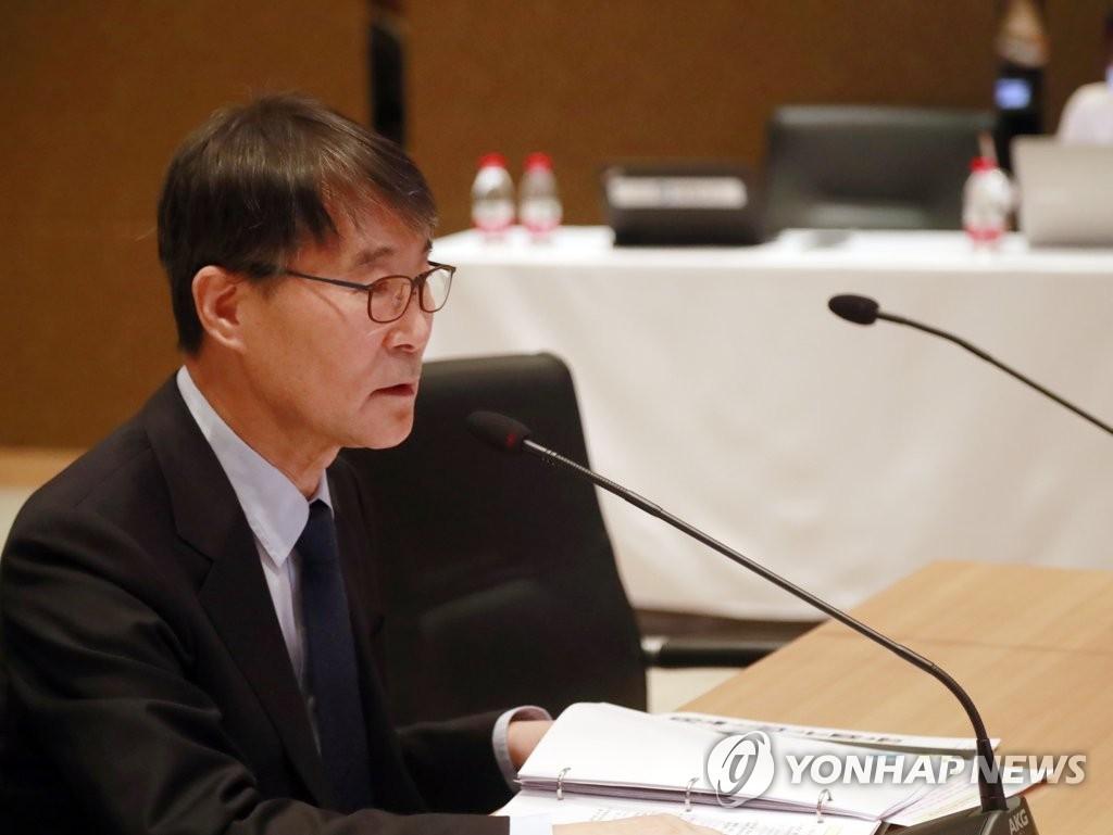 资料图片:韩国驻华大使张夏成 韩联社