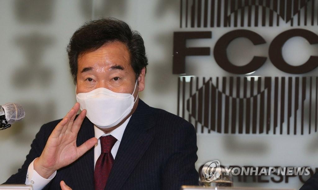 韩执政党党首答外媒记者提问