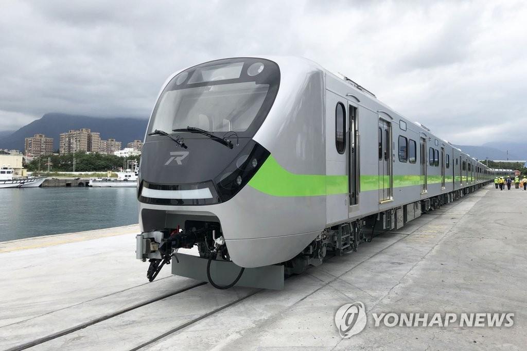 现代罗特姆有轨电车交付台湾
