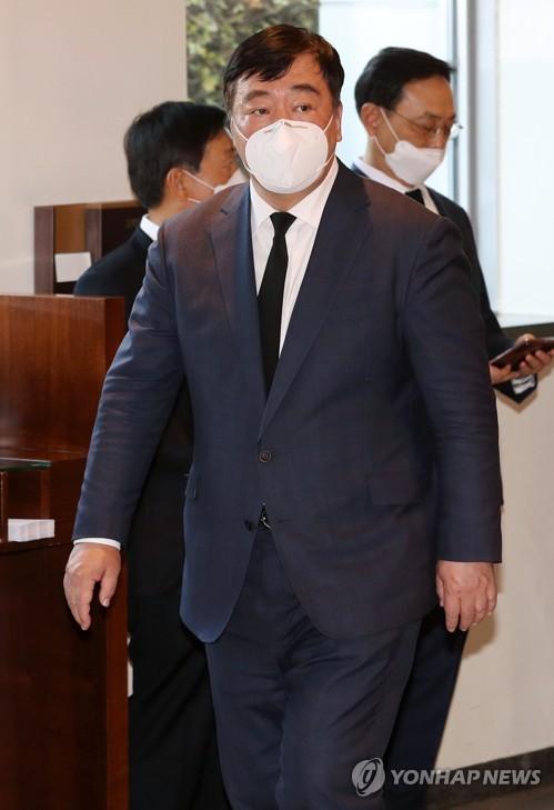 中国大使邢海明吊唁李健熙