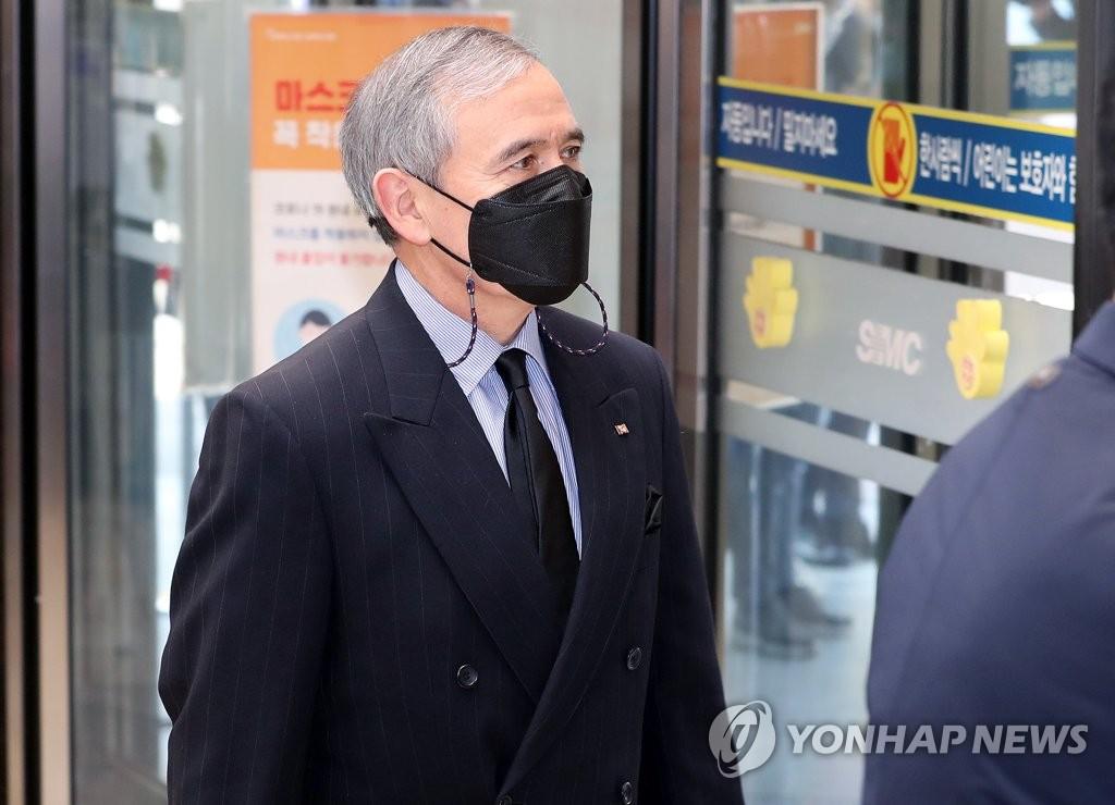 美国大使吊唁李健熙
