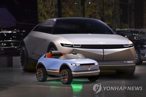 现代纯电动概念童车