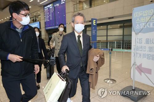 日本外务省亚大局长访韩磋商索赔限贸矛盾
