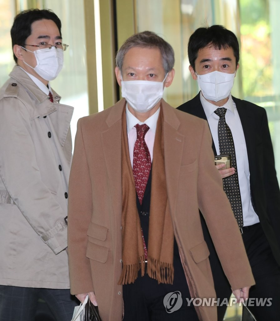 日本外交高官访问韩国外交部