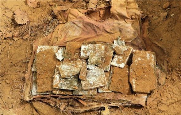 非军事区发掘出的防弹服