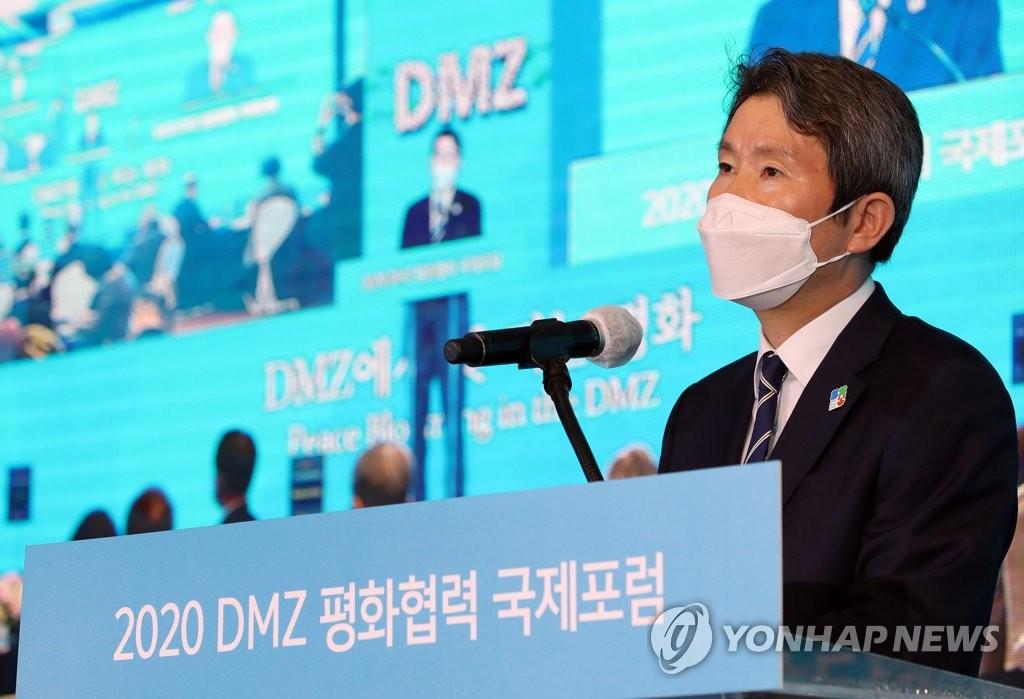 消息:韩统一部长官拟美国大选后访美