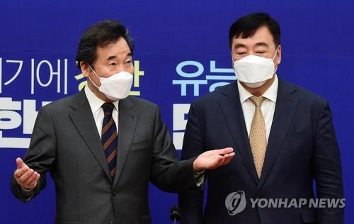 韩国执政党党首李洛渊会见中国驻韩大使邢海明