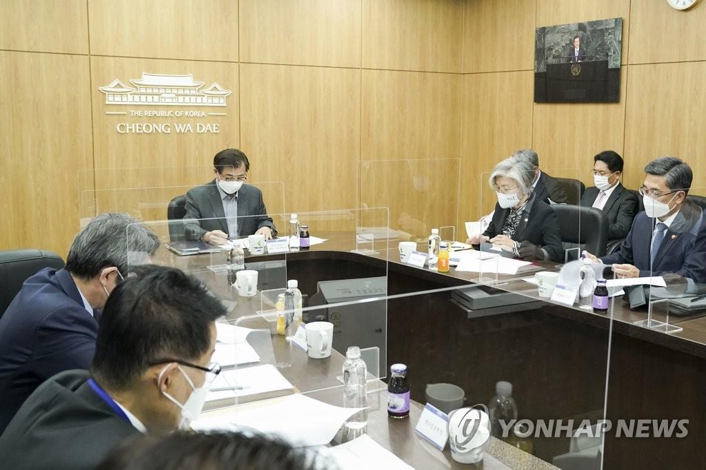 韩青瓦台:继续基于韩美合作推进和平进程