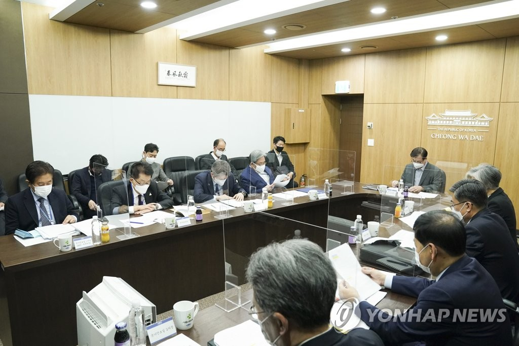 韩国国安委开会讨论尽早发表终战宣言