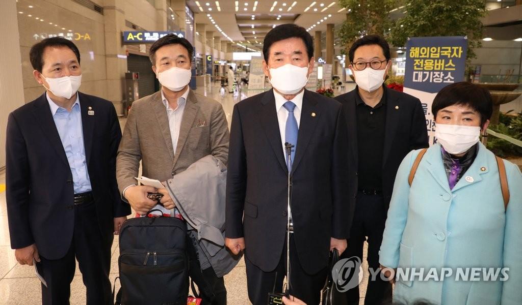 韩日议员联盟访日因日本疫情推迟
