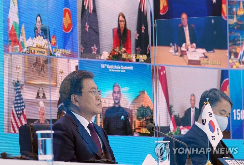 东盟系列峰会发表声明支持韩半岛和平进程