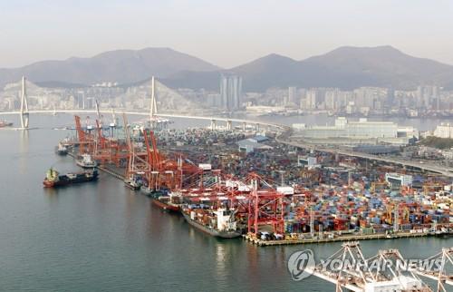 韩国3月前20天出口同比增12.5%