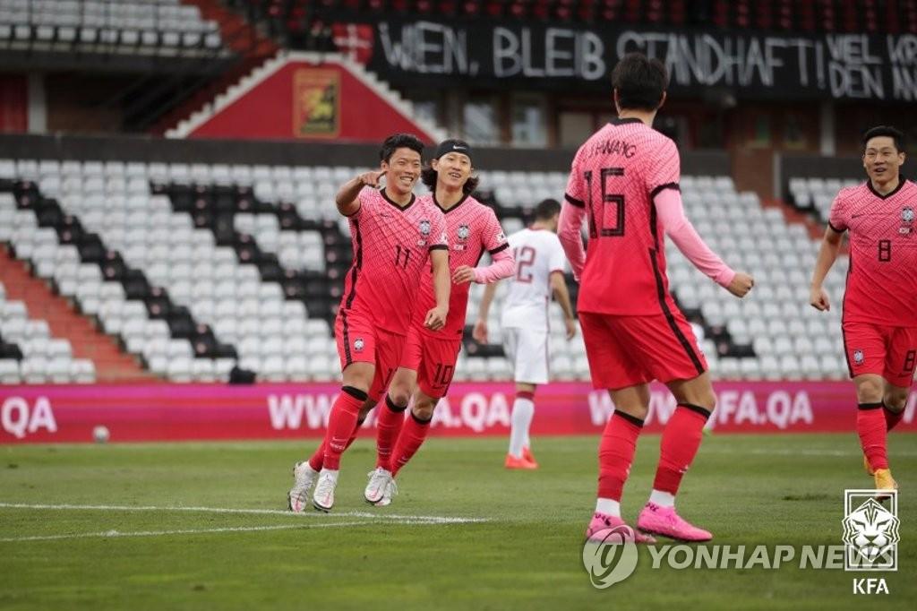 韩国国足部分选手平安回国接受隔离