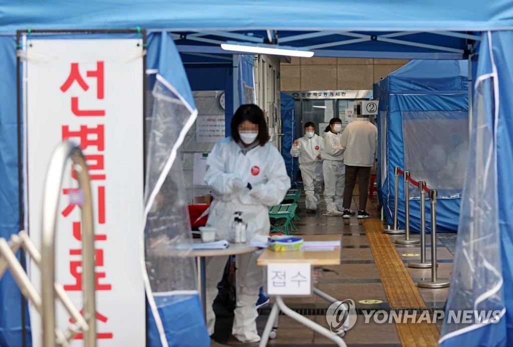 简讯:韩国新增343例新冠确诊病例 累计29654例
