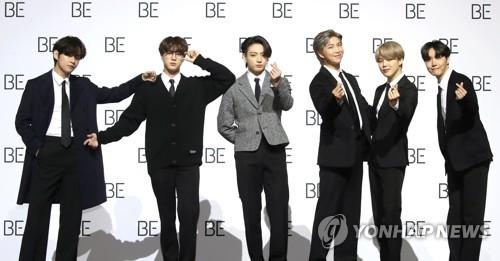 详讯:防弹少年团新辑《BE》登顶公告牌专辑榜