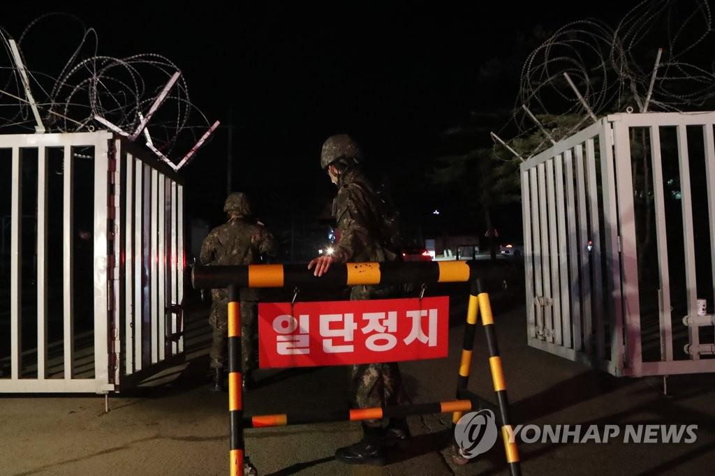 韩军全面提升部队营内防疫响应级别