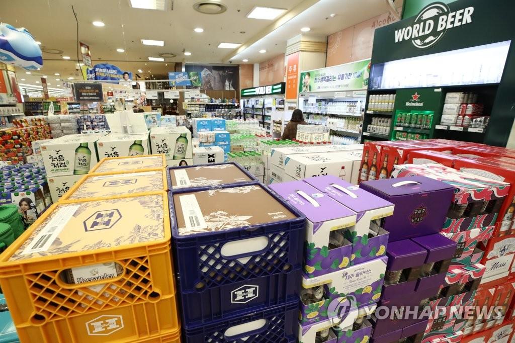 调查:疫情下韩国人更爱居家独酌