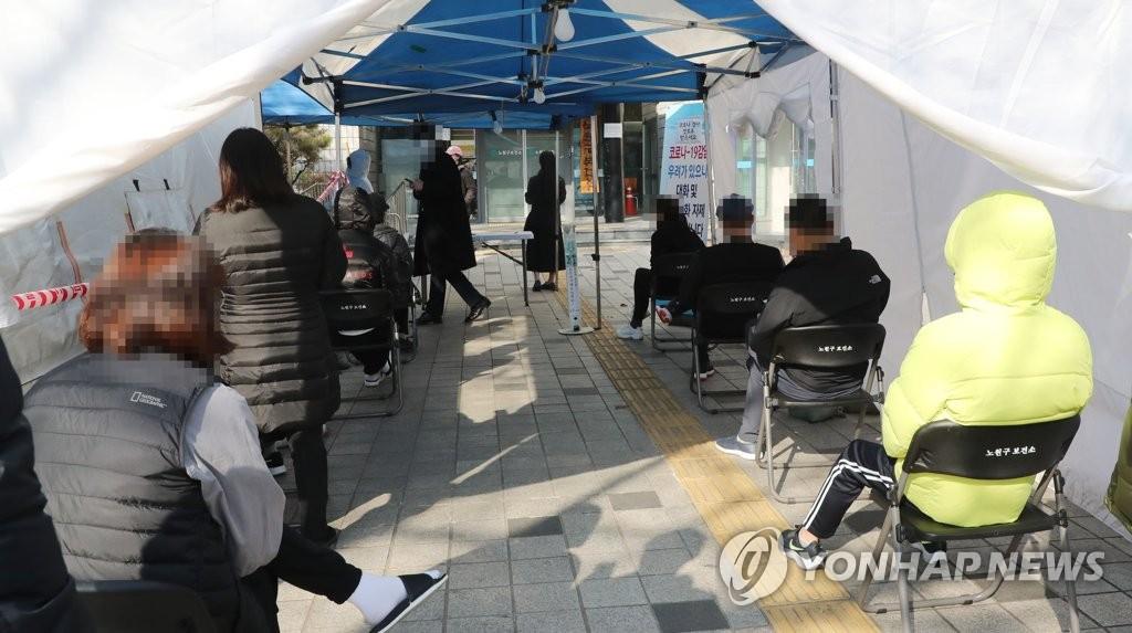 韩政府预测单日新增病例本周或持续超400例