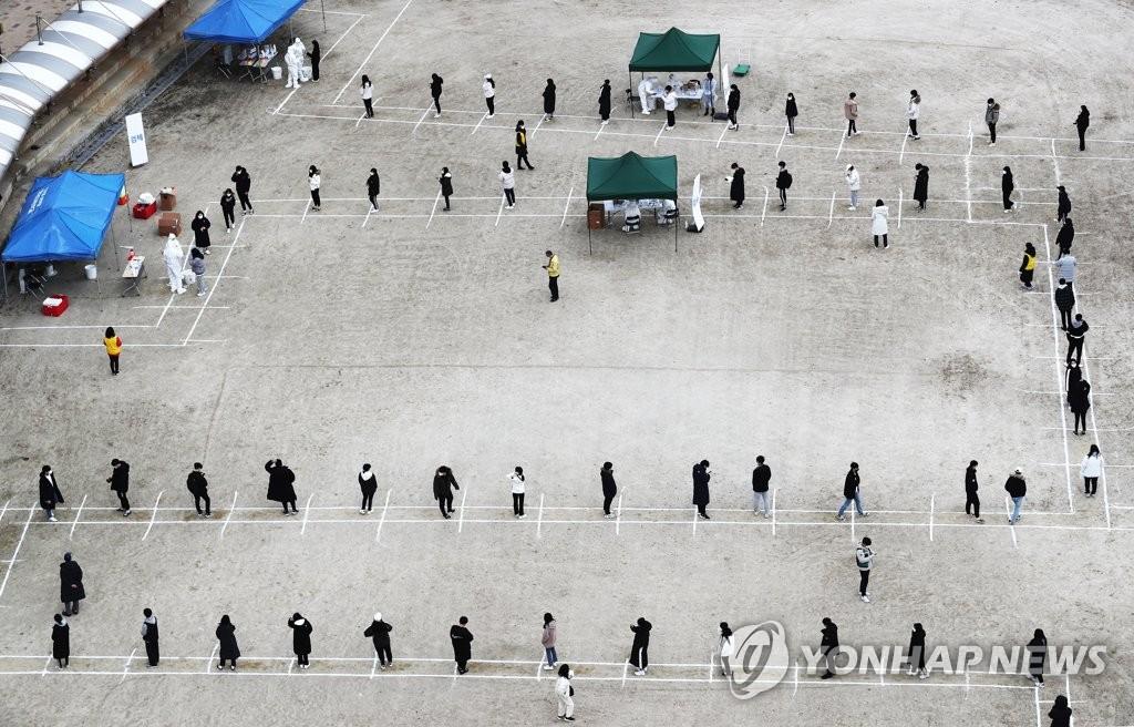 简讯:韩国新增504例新冠确诊病例 累计33375例