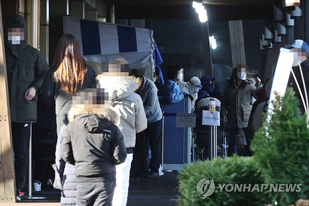 简讯:韩国新增450例新冠确诊病例 累计33824例