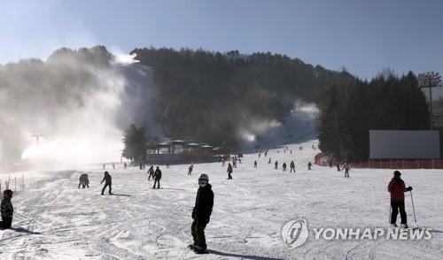 享受滑雪乐趣