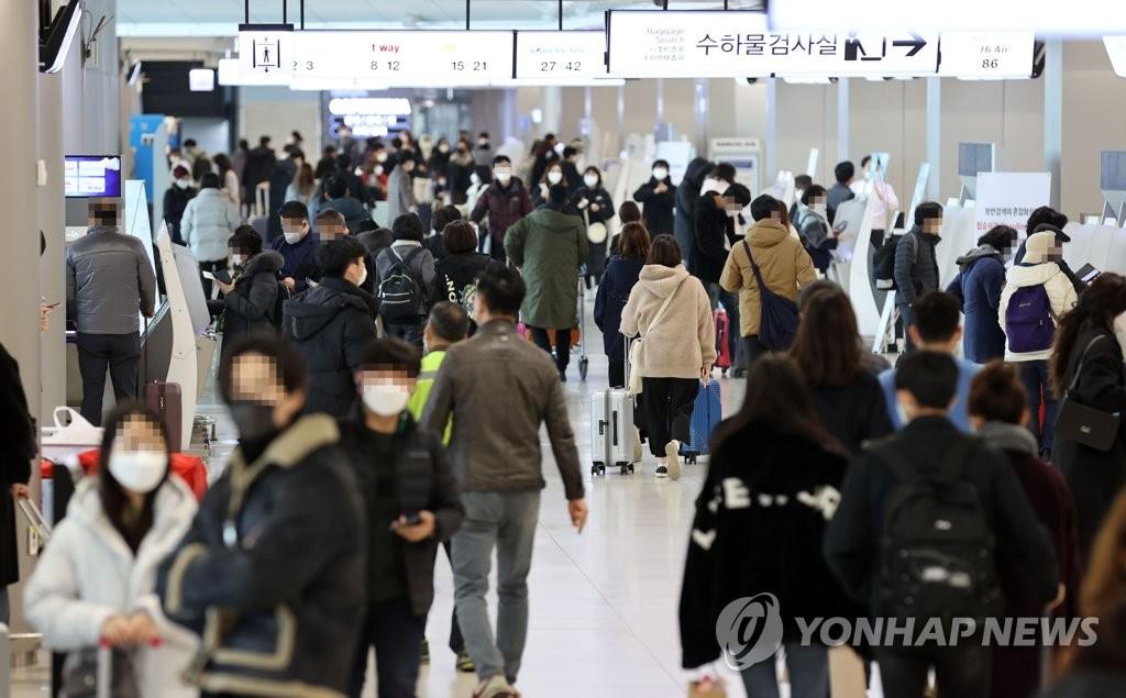 韩国内航线11月客运量同比增加