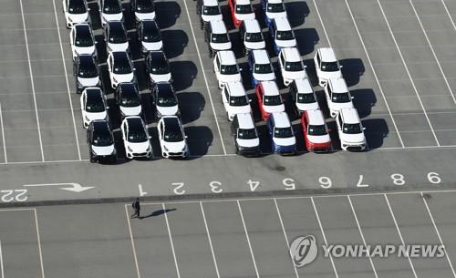 韩国11月汽车减产6.3%出口降10.2%
