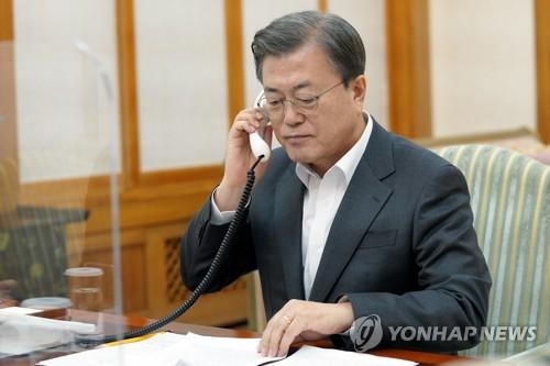 韩法元首通电话共商应对气候变化合作方案