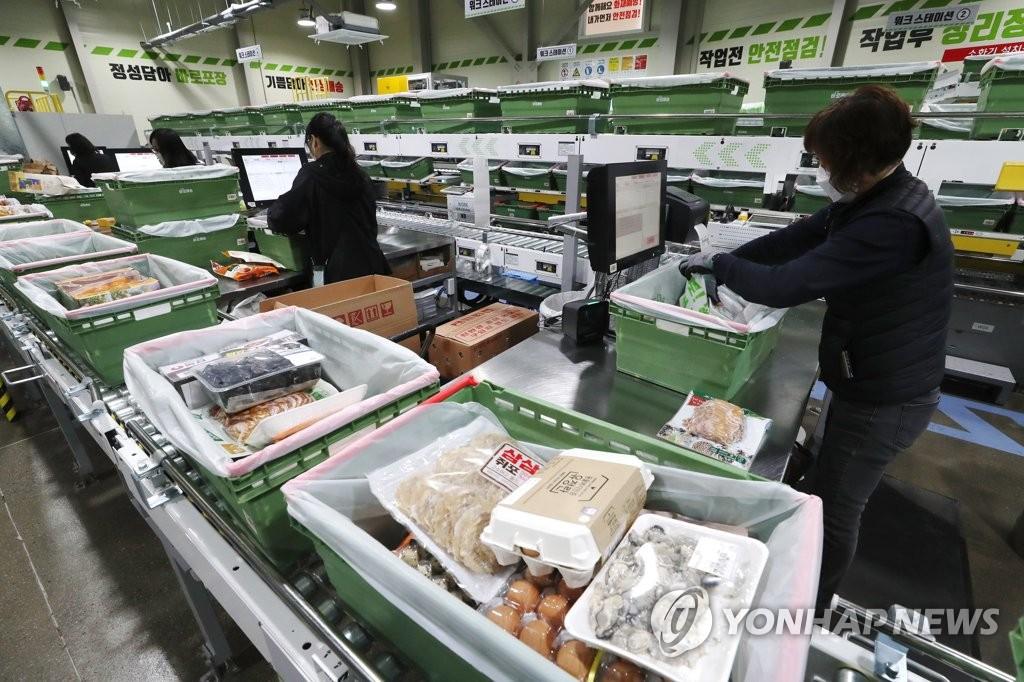 韩防疫响应升级推高电商便利店订单量增加