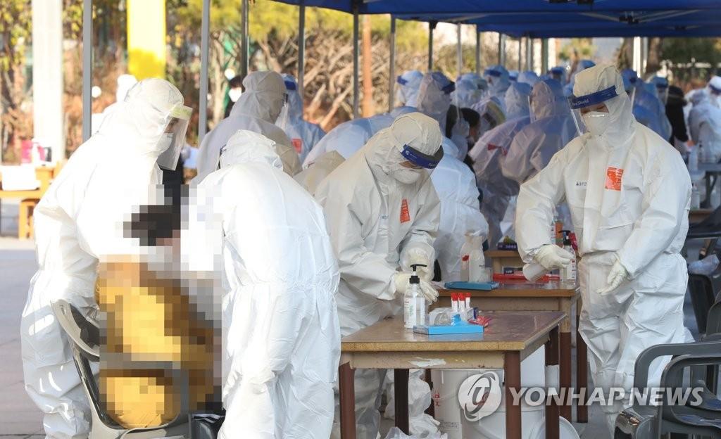 简讯:韩国新增1030例新冠确诊病例 累计42766例