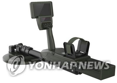 韩军研发完成新型探雷器 可探测非金属地雷