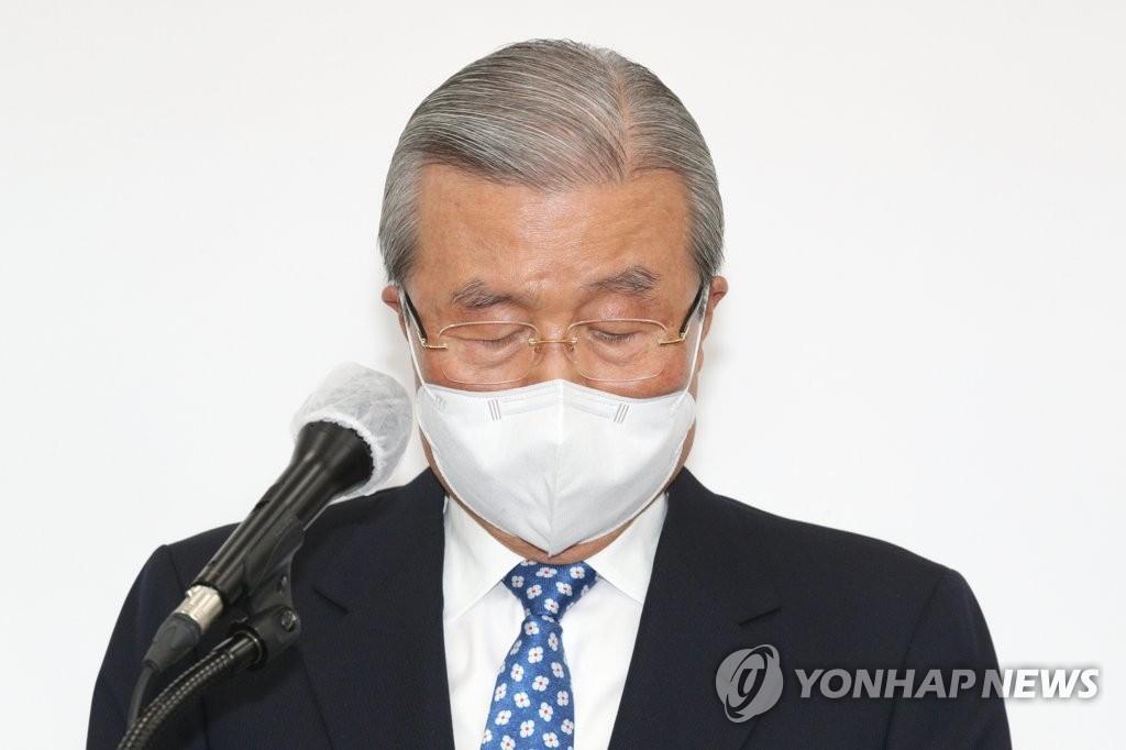韩最大在野党就该党前两任总统问题道歉