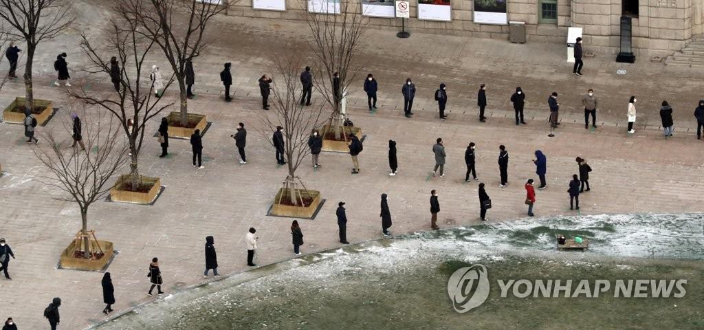 详讯:韩国新增1097例新冠确诊病例 累计49665例
