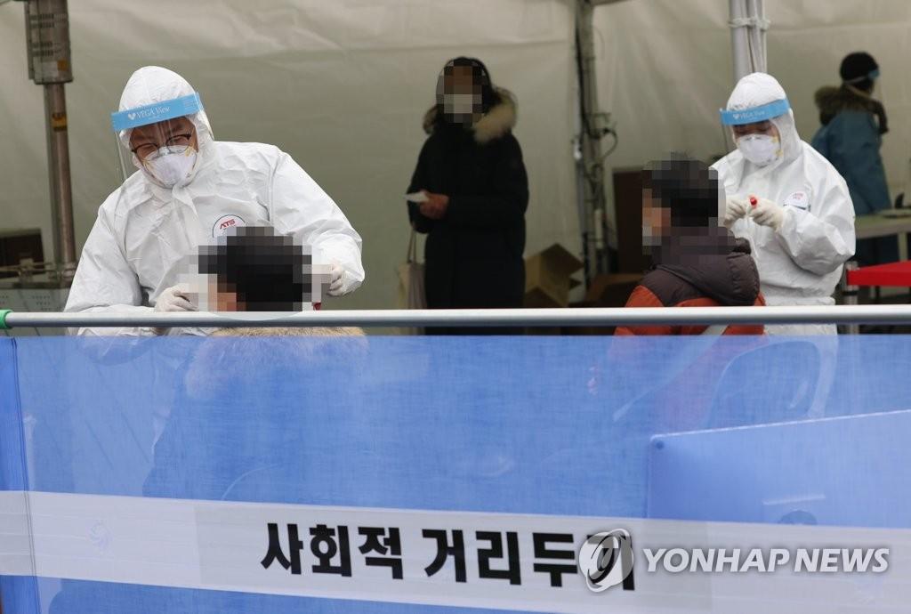 简讯:韩国新增1053例新冠确诊病例 累计48570例