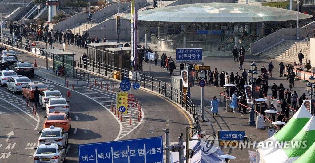 简讯:韩国新增869例新冠确诊病例 累计51460例