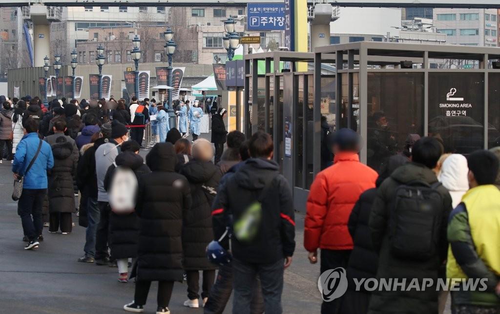 韩国近1周日均新增近千例 首都圈扎堆感染