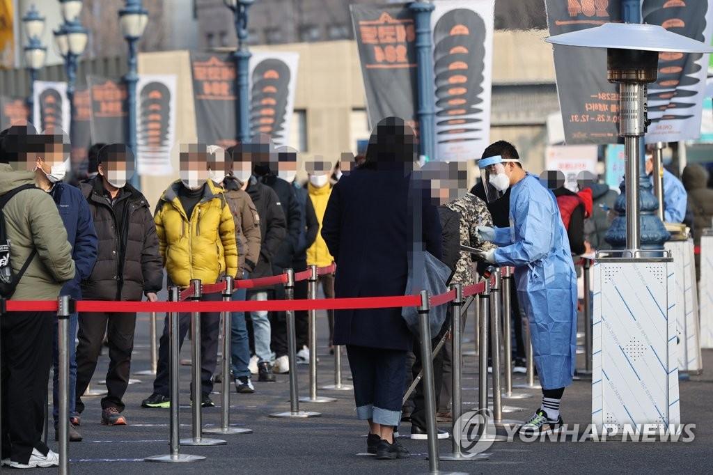 简讯:韩国新增970例新冠确诊病例 累计56872例