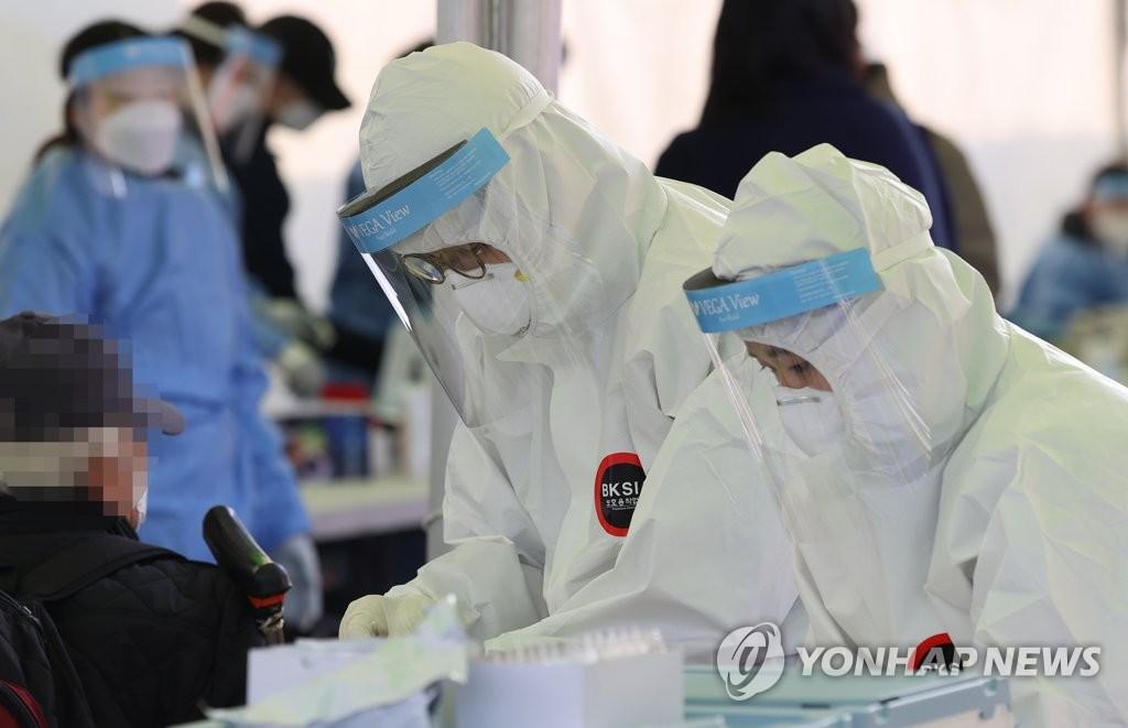 简讯:韩国新增808例新冠确诊病例 累计57680例