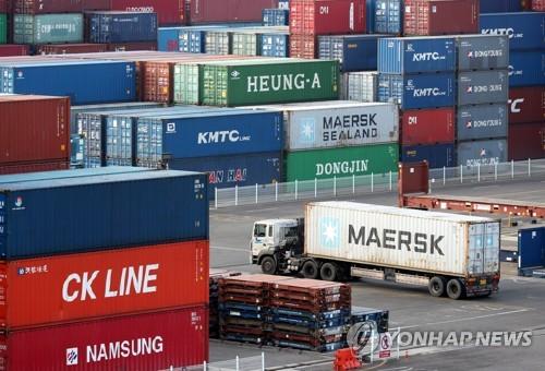 韩国4月前10天出口同比增24.8%