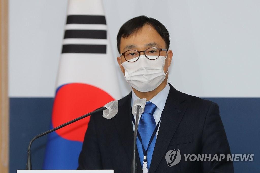 资料图片:外交部发言人崔泳杉 韩联社