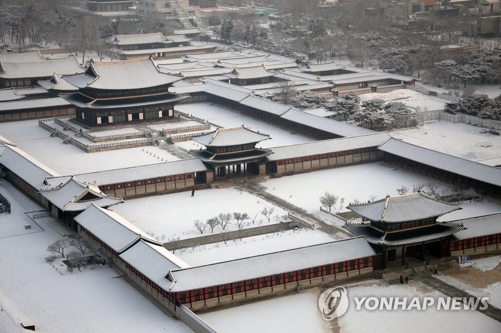 雪后景福宫