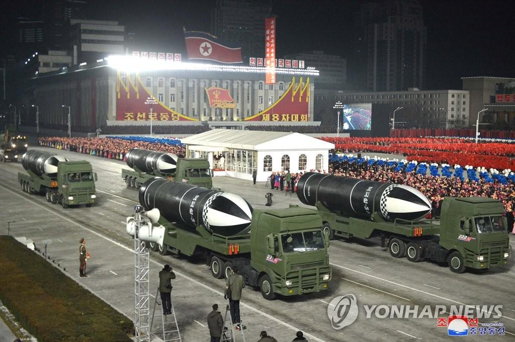 朝鲜八大纪念阅兵式